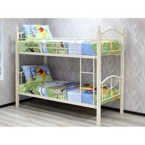 Двухъярусная кровать-трансформер PS99DD, цвет топленое молоко